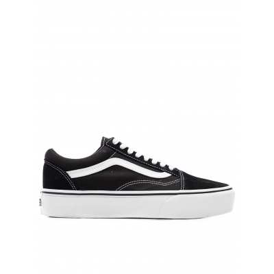 TENIS UA OLD SKOOL PLATFORM BLACKWHITE
