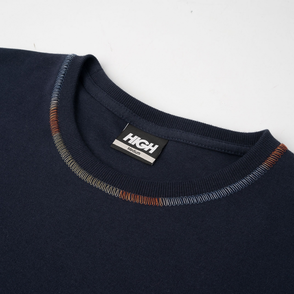 Foto 3 - WORK TEE RAINBOW NAVY