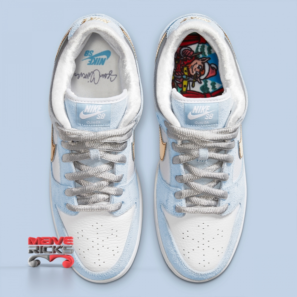 Foto 4 - NIKE X SEAN CLIVER - SB Dunk Low 'Holiday Special' -NOVO-