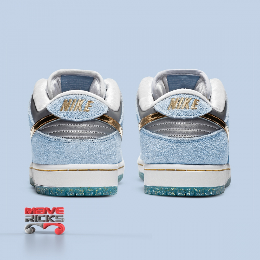 Foto 3 - NIKE X SEAN CLIVER - SB Dunk Low 'Holiday Special' -NOVO-