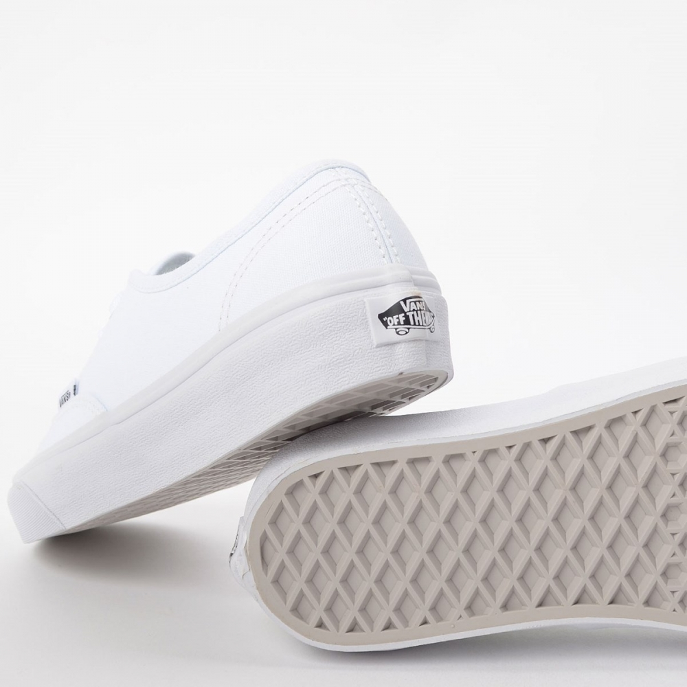 Foto 4 - TENIS VANS AUTHENTIC TRUE WHITE
