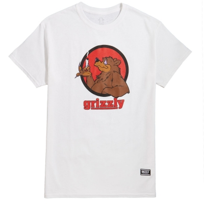 T-SHIRT GRIZZLY BEAR BLUNT SS TEE