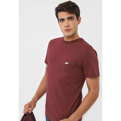 CAMISETA VANS EVERYDAY POCKET VINHO