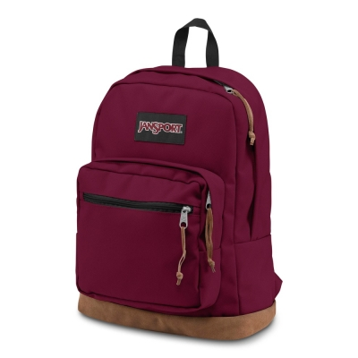 MOCHILA RIGHT PACK RUSSET RED COURO CAMU