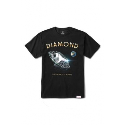 T-SHIRT DIAMOND WORLD IS YOUR TEE