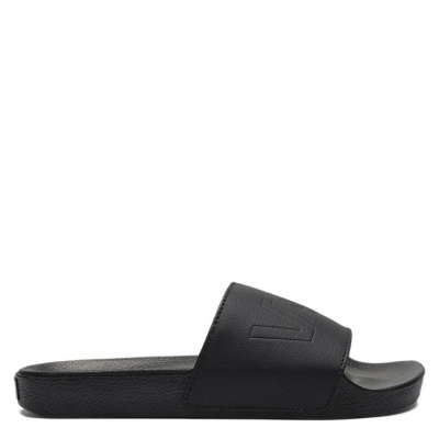 CHINELO MN SLIDE-ON BLACKBLACK