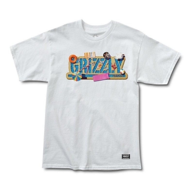 T-SHIRT GRIZZLY POOL PARTY
